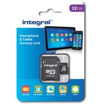 Integral Micro SDHC geheugenkaart klasse 10 32gb