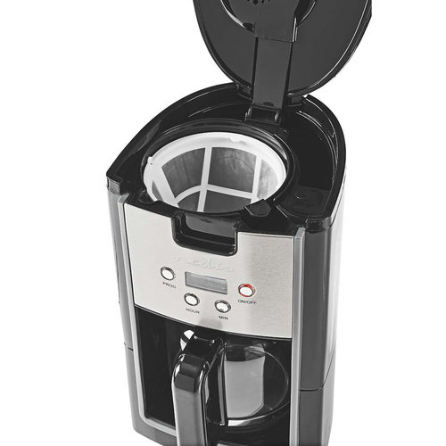 nedis Koffiezetapparaat | 12-Kops Inhoud | 24-uurs Timer | Zwart