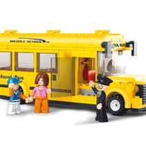 Bouwstenen Town Serie Schoolbus