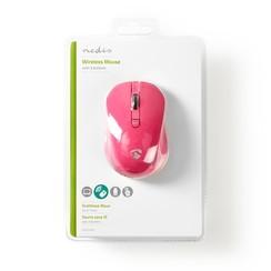 Draadloze muis,1000 dpi, 3-knops, Roze