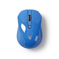 Draadloze muis | 1000 dpi | 3-knops | Blauw