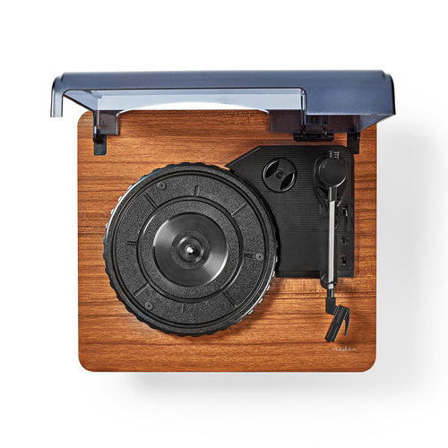 nedis Platenspeler | 9 W | Bluetooth ® | Cover | Bruin