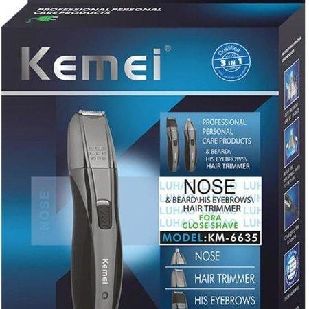 Kemei Kemei KM-6635 Neus en Baard Trimmer