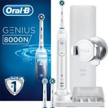 Oral-B Genius 8000N Zilver - Elektrische Tandenborstel