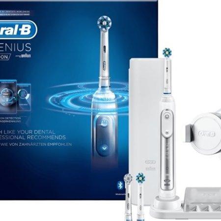 oral b Oral-B Genius 8000N Zilver - Elektrische Tandenborstel