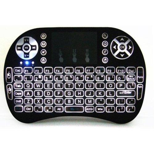 i8 Rii i8 Mini Wireless Keyboard Zwart