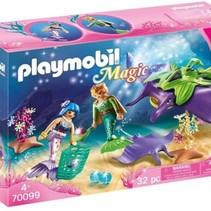 PLAYMOBIL Parelvissers met roggen - 70099