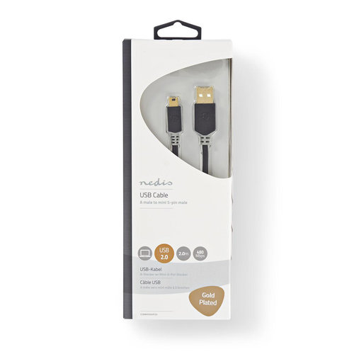 stereo usb-cable 2.0m