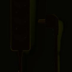 Stekkerdoos 3 wegs - 1.5 meter