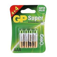 GP super AAA Batterijen