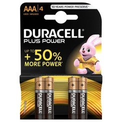 Duracell 4X AAA