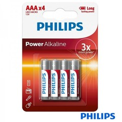 Philips 4 X AA