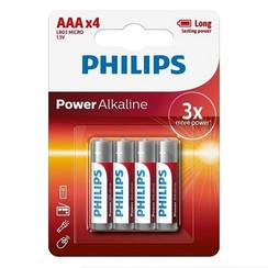 Philips 4 X AAA