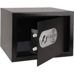 Stahlex Superlock - Elektronische Kluis met Persoonlijk Cijferslot & Sleutel (Tot 8 cijfers) - Wand/Muurbevestiging