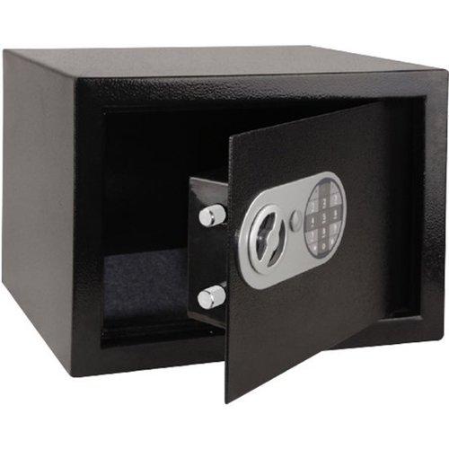 stahlex Stahlex Superlock - Elektronische Kluis met Persoonlijk Cijferslot & Sleutel (Tot 8 cijfers) - Wand/Muurbevestiging