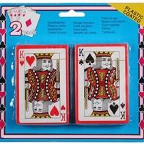 Benson Speelkaarten Geplastificeerd ( 2 pakjes)