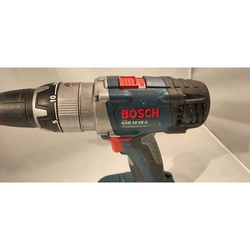 Bosch Bosch GSB 18 VE-2 LI SOLO 18V Li-Ion accu klopboor-/schroefmachine body