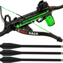 Hori-zone Red Back Crossbow 80LBS - groen