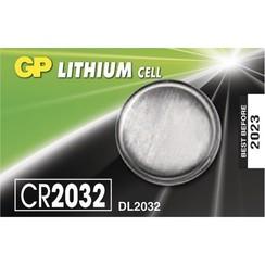 GP Lithium CR2032