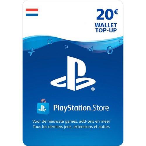 PS4 Waardekaart NL - 20 euro PlayStation Store tegoed - PSN Playstation Network Kaart (NL)