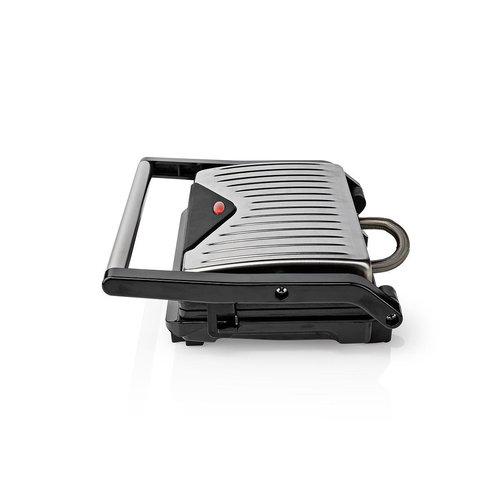 nedis Nedis Compacte Contactgrill | 750 W | Aluminium