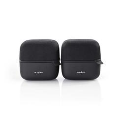Luidspreker met Bluetooth® | 15 W | True Wireless Stereo (TWS) | 2 stuks | Zwart / zwart