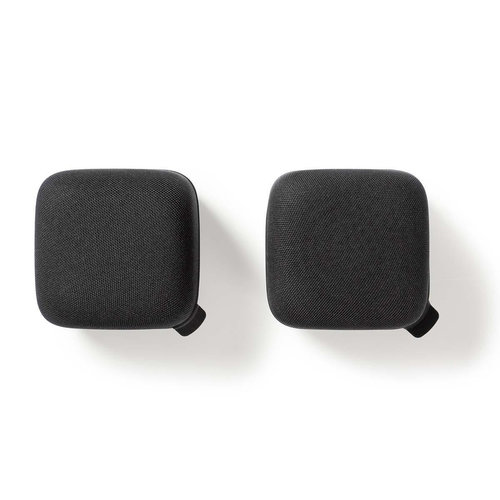 nedis Luidspreker met Bluetooth® | 15 W | True Wireless Stereo (TWS) | 2 stuks | Zwart / zwart
