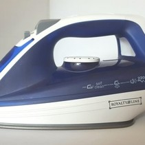 Royalty Line Stoom Strijkijzer Steam Iron - Blauw - 2200 Watt