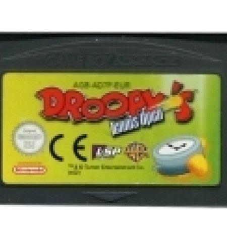 Nintendo Droopy Tennis (losse cassette)