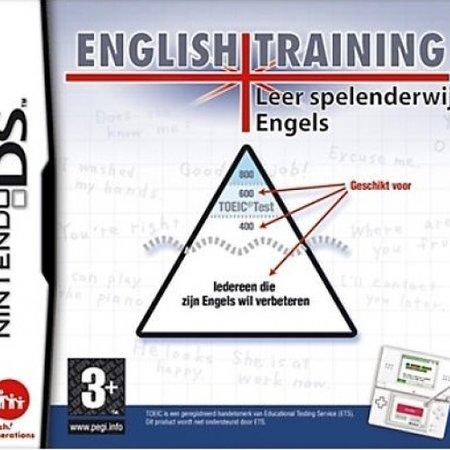 nintendo ds English Training (losse cassette)