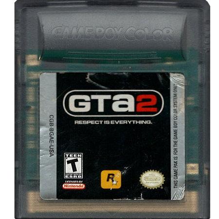 gameboy color Grand Theft Auto 2 (losse cassette)