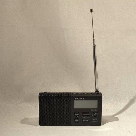 Sony Sony XDR-P1DBP - DAB+ radio - Zwart