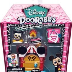 Disney Doorables - Mini display set - Mickeys Huis