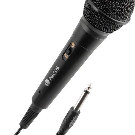 NGS NGS Singer Fire Karaokemicrofoon Zwart