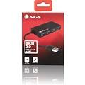 NGS NGS - USB HUB IHUB3.0 - USB 3.0 HUB 4 POORTEN