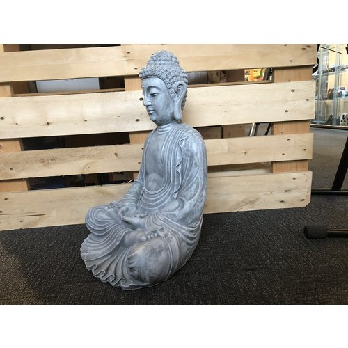 deco Boeddha zittend in lotus houding - 180203