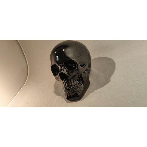 deco Zwart Schedel beeldje 140101-bl