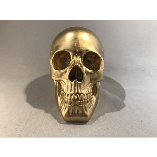 deco Schedel goud - 140101