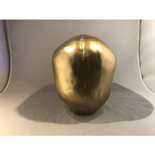 deco schedel goud large - 140100