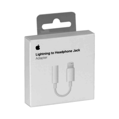 Lightning-naar-mini‑jack-adapter