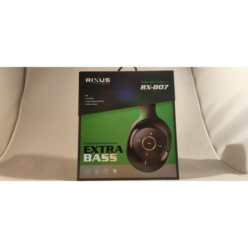 rixus Rixus RX-BO7 Draadloze stereo koptelefoon
