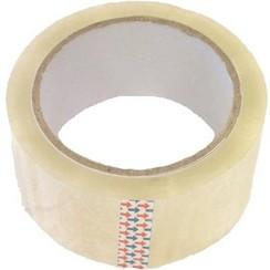 Verpakkingstape / dozen tape transparant 50 meter x 48 mm