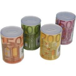 Spaarpot Euro 23 X 15 cm - mix
