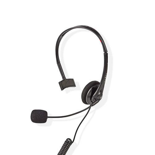 nedis PC-Headset | On-Ear | RJ9-Connector | 2,2 m | Zwart