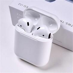 I12 TWS - Earbuds - Earphones - Touch - Draadloze Oordopjes - Alternatief Apple Airpods - Automatisch Verbinden - Bluetooth 5.0 - Wit