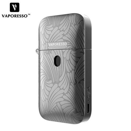 vaporesso Authentic Vaporesso Aurora Play 650mAh Pod System Kit - Metallic Grey, NECS-565601