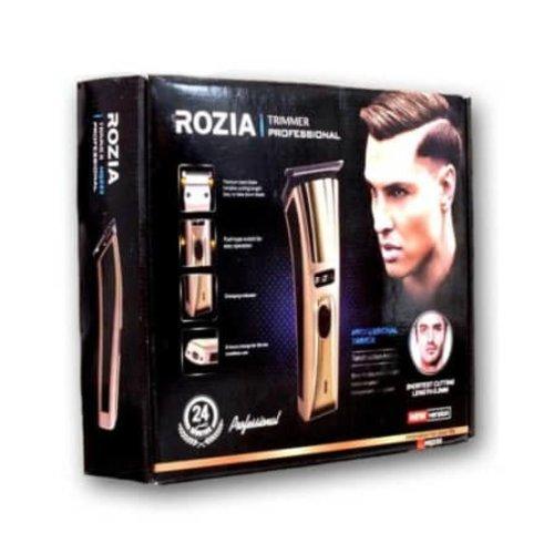 Rozia Rozia HQ233 Draadloze, oplaadbare tondeuse voor mannen met 4 geleidekammen
