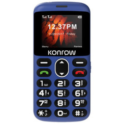 """GSM KONROW Senior 2"""" Bleu"""