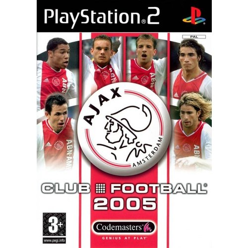 PS2 Ajax Club Football 2005