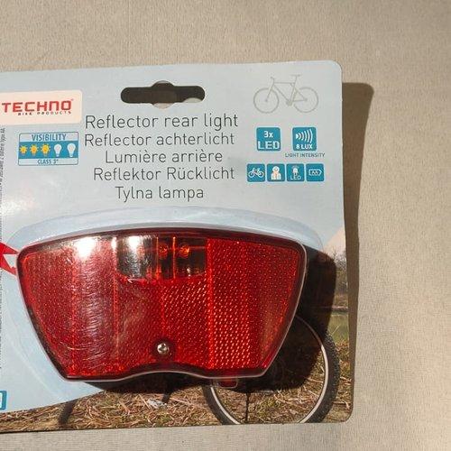 techno Fiets Achterlicht reflector